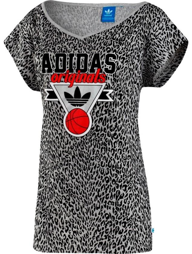 adidas Originals Women Injection限量籃球系列豹紋Tee$1490_覃淕湮苤