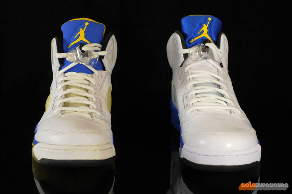 air jordan v laney comparison-1