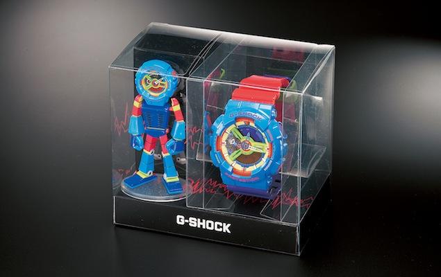 G-SHOCK MAN GA-110F 公仔套組特殊盒裝