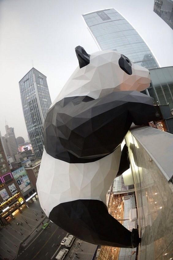 大熊貓裝置藝術-1