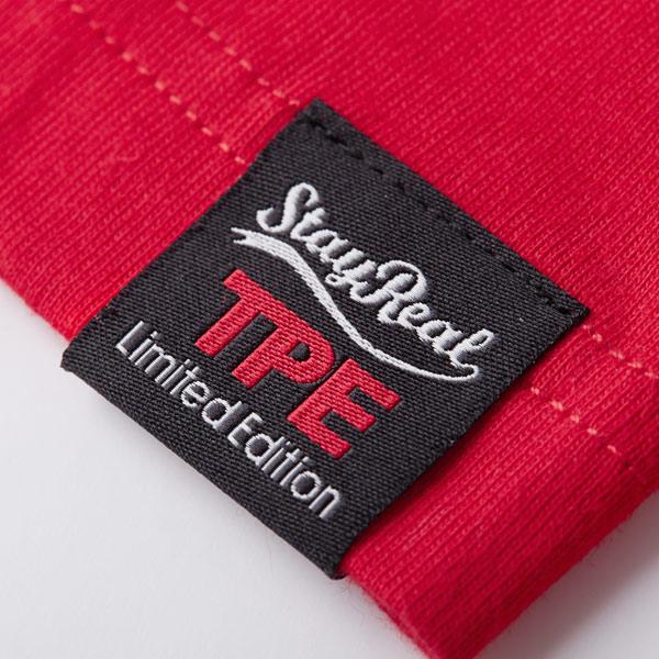 細節-店慶限量T恤的織標上繡有TPE Limited Edition代表著台北限定