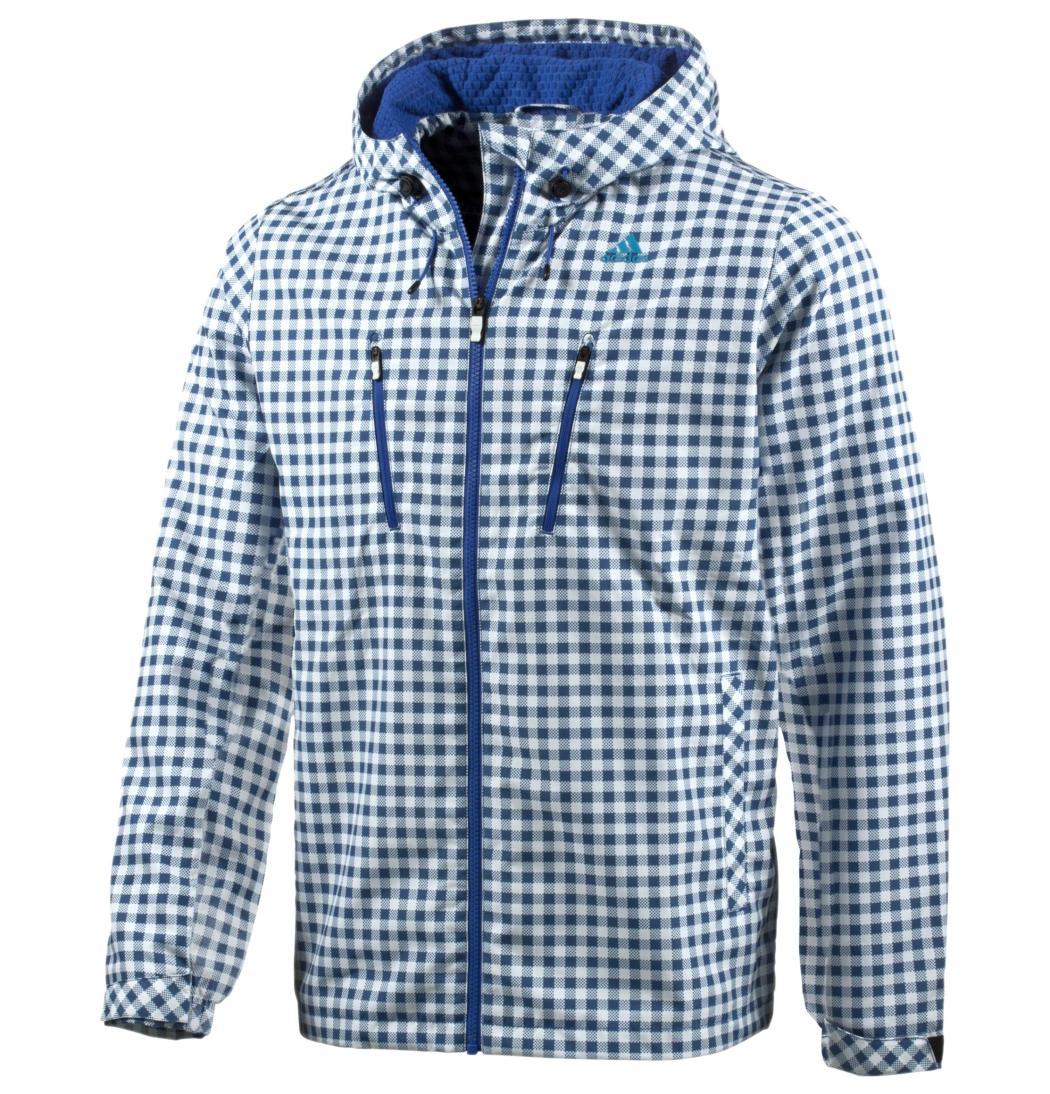 ClimaProof防潑水藍白格紋風衣外套 售價$3,290元