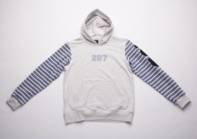 MR.SAY NAVY Patch Hoodie_White-01_