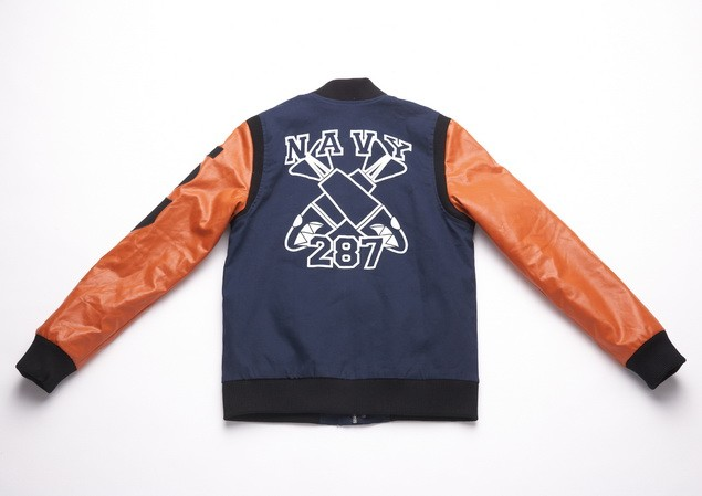 MR.SAY NAVY Patch Varsity Jacket-2-01_