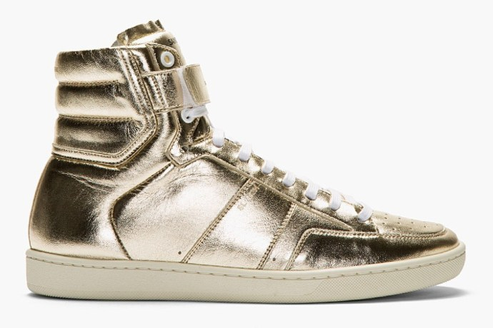 saint-laurent-gold-lame-leather-high-top-sneaker-1