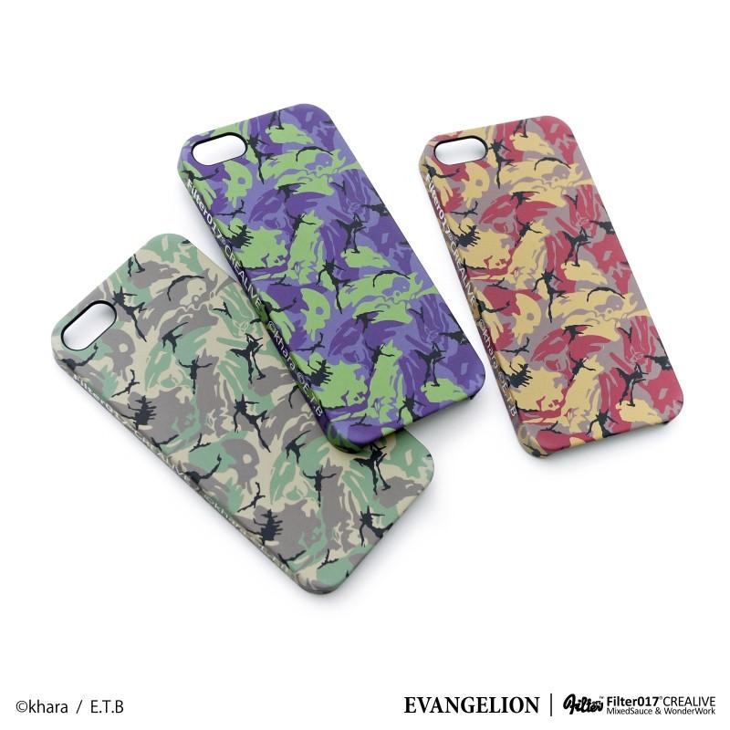 Filter017 x EVANGELION - EVA Camo iPhone 5S Case