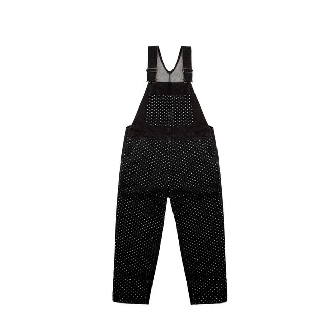 HYOMA SP14 Black Dotted Overall Denim Jumpsuit  $959