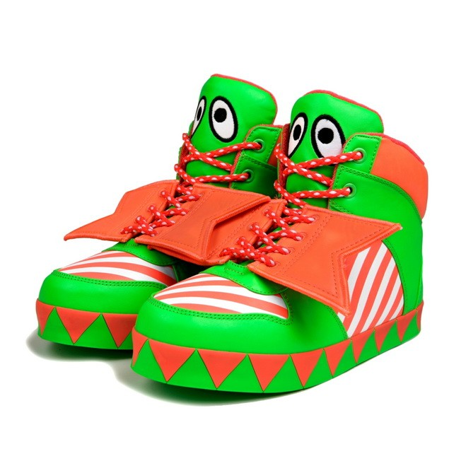 HYOMA SP14 Color Green Blocking sneaker Shoes $999