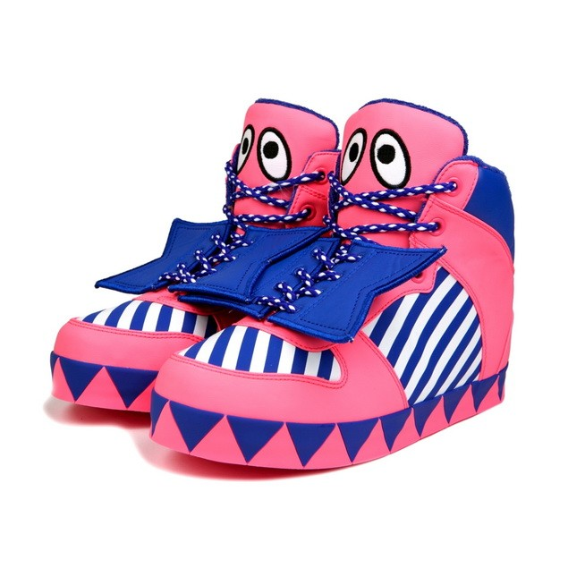 HYOMA SP14 Color Pink Blocking sneaker Shoes $999