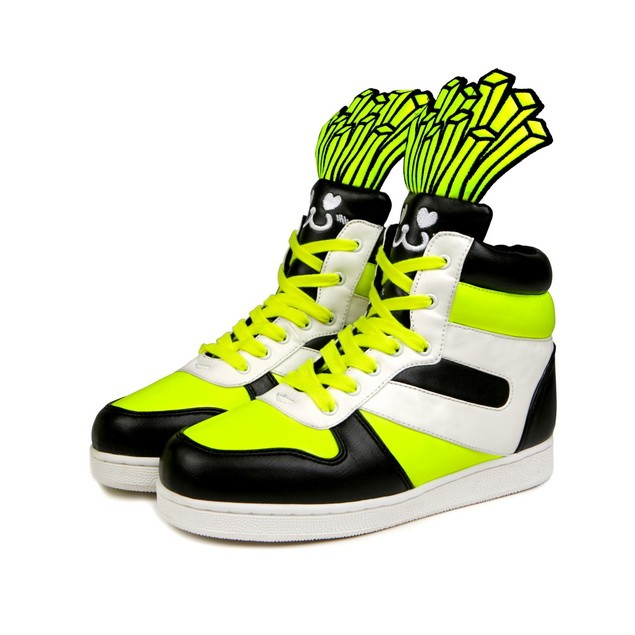 HYOMA SP14 Fries Black x Yellow Trainer Shoes $1099