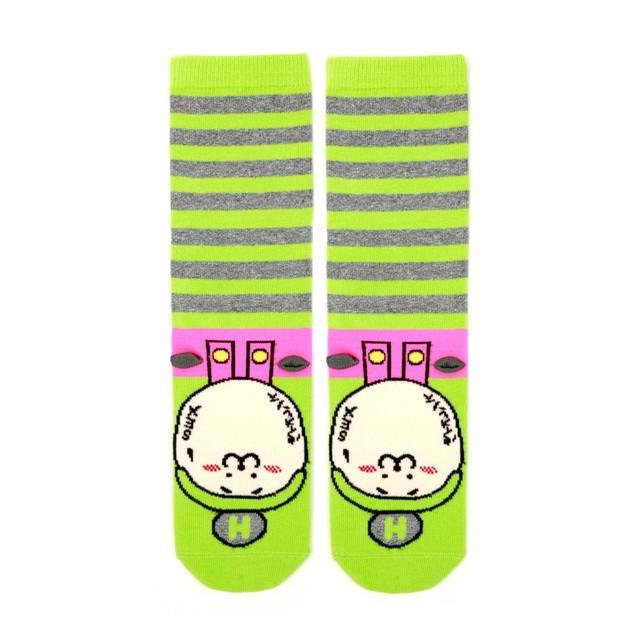 HYOMA SP14 Hario Stripe Green Socks $109