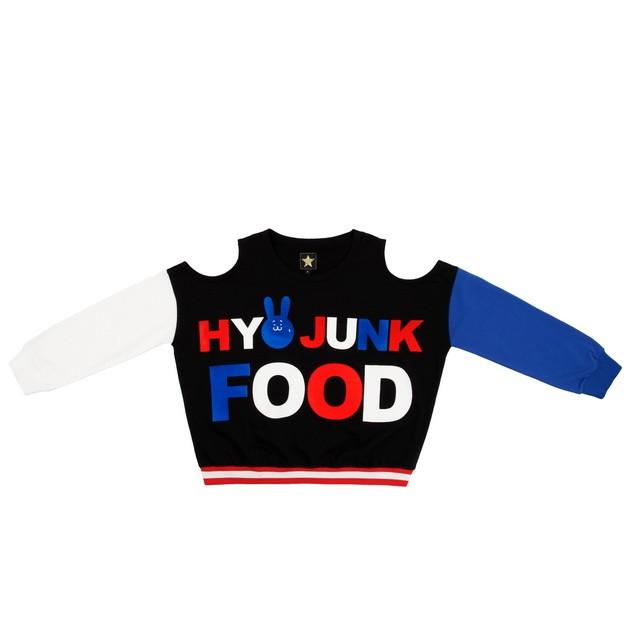 HYOMA SP14 Hyoma Junk Food Typo Sweatshirt $629