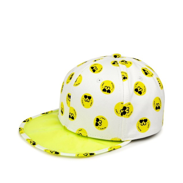 HYOMA SP14 Hyoma all-over White Snapback Hat $399