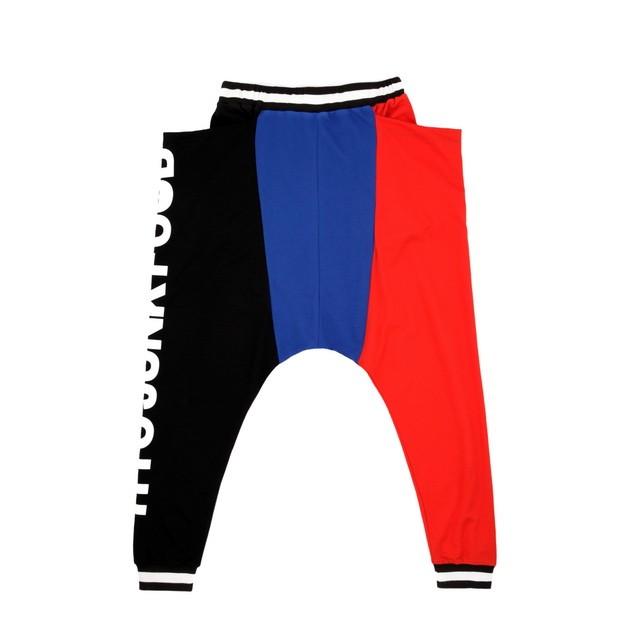 HYOMA SP14 Junk Food Typo Color Blocking Pants $699