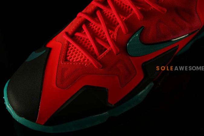 nike lebron 11 gs solar red-3