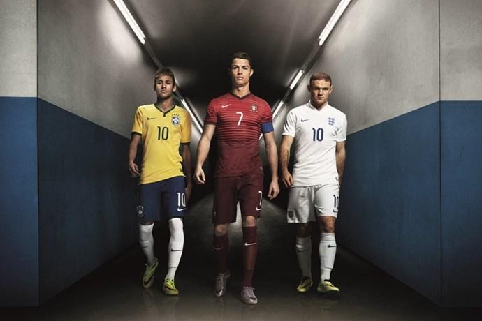 Nike啟動2014年-#搏上一切-足球活動,詮釋球員如何面對代表國家出戰的壓力