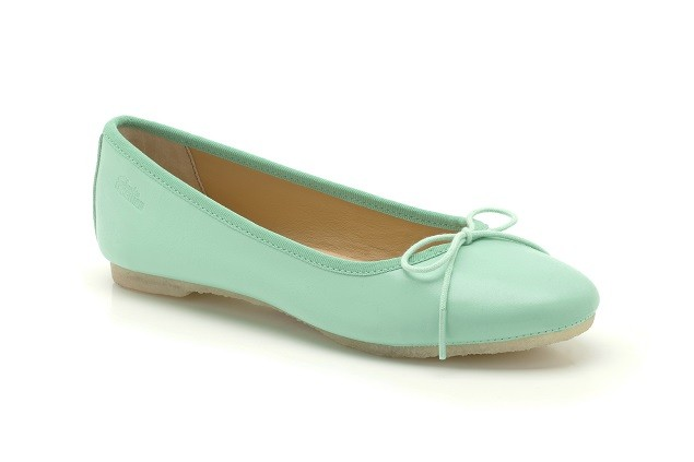 Lia Grace Mint Leather