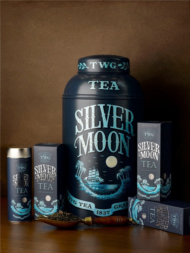 TWG Tea Haute Couture頂級訂製系列—銀月綠茶 建議售價新台幣1180元