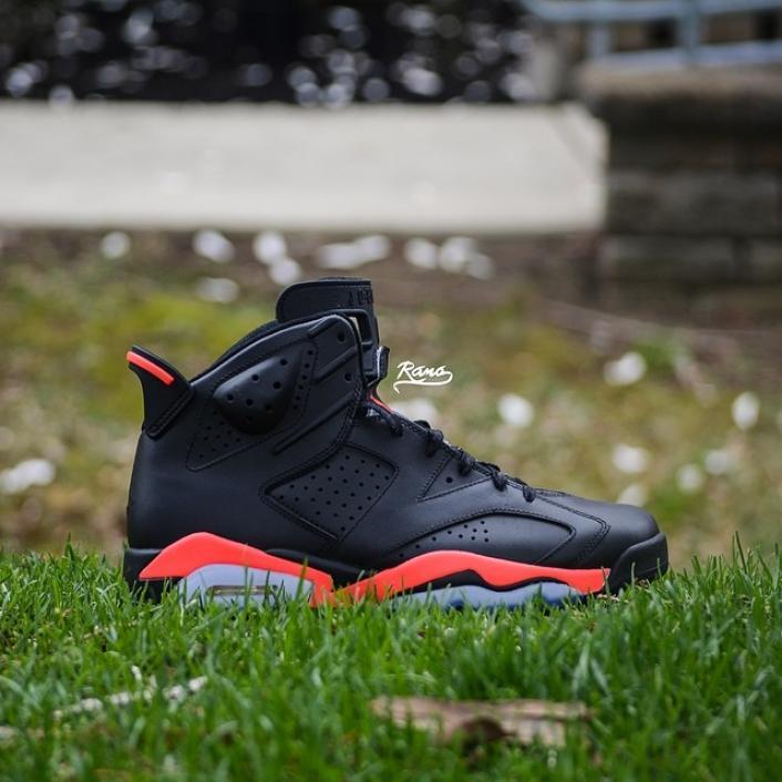 air-jordan-6-matte-black-infrared-custom