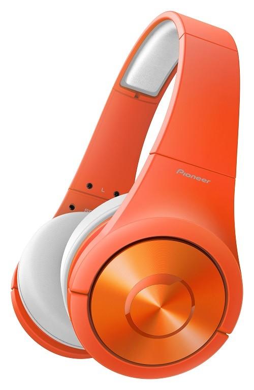 Pioneer新品耳機發表會_SE-MX7頭戴式耳機_橘_NT$6900