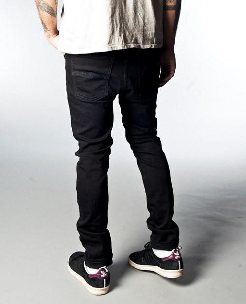 Nudie Jeans_High Kay_Org. Black Black $6020