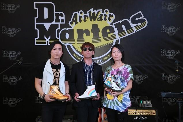ECHO柏蒼、Tizzy Bac惠婷、1976阿凱 三大獨立音樂創作人首度合體演出!獻出第一次鞋款設計處女秀