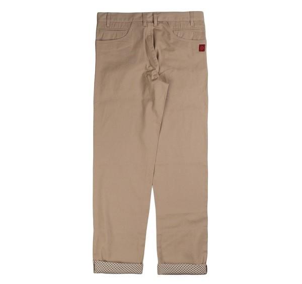 Polka Dots Roll Up Pants_(Beige2)