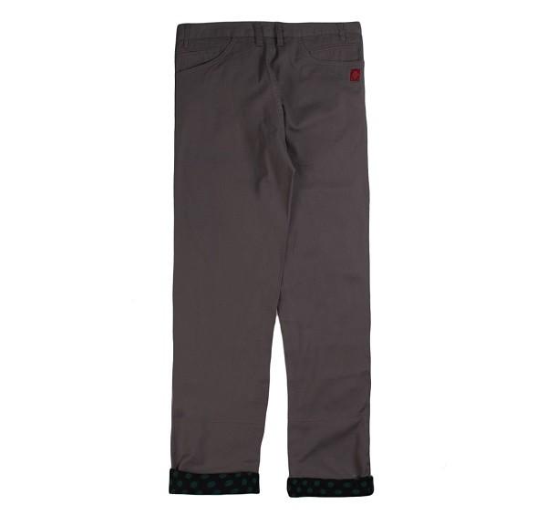 Polka Dots Roll Up Pants_(Grey2)
