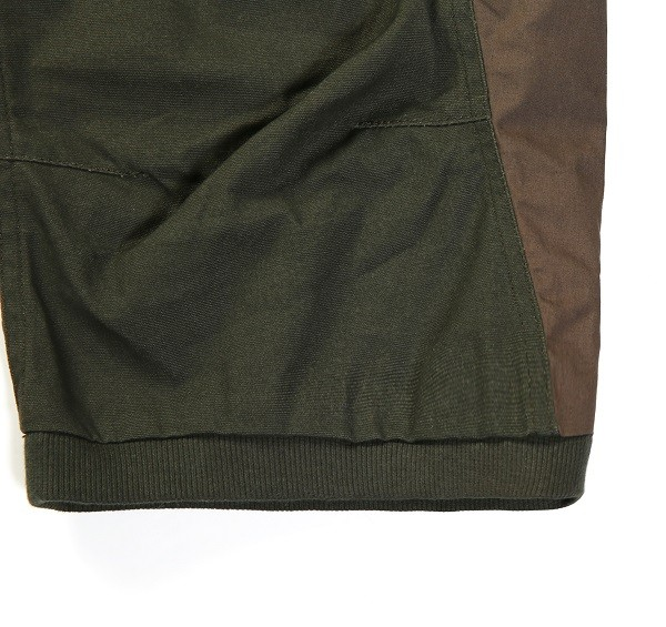 Tonal Panel 3_4 Shorts_(Army Green3)