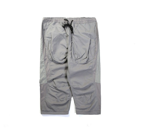 Tonal Panel 3_4 Shorts_(Grey1)