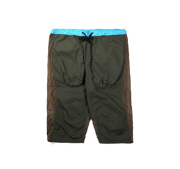 Tonal Panel Shorts_(Army Green1)