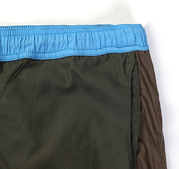 Tonal Panel Shorts_(Army Green3)
