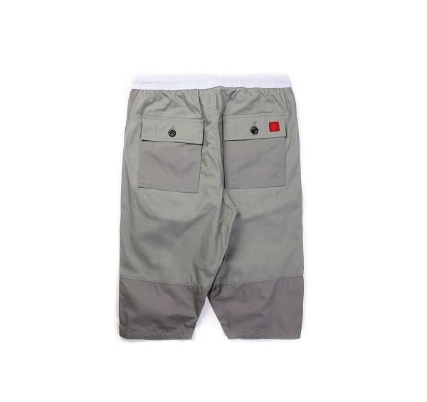 Tonal Panel Shorts_(Grey2)