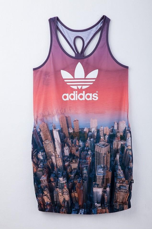 adidas Originals 紐約映像系列-長版花苞裙NTD 1,890