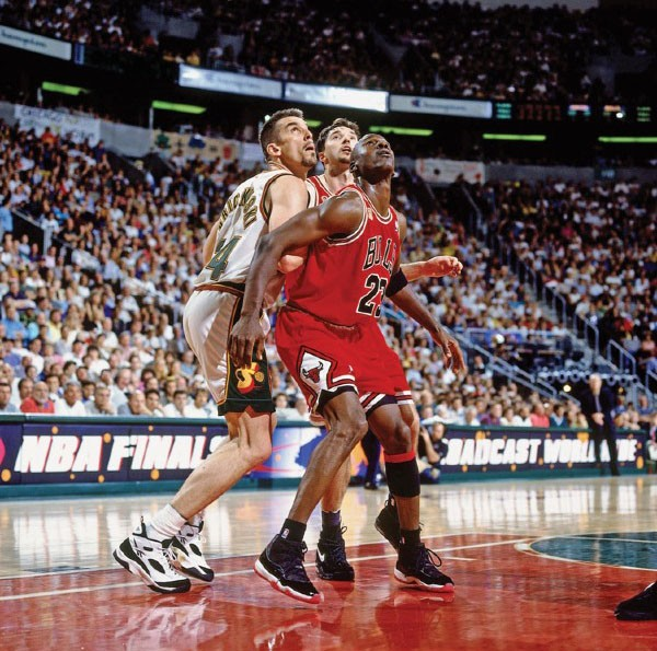 1996 NBA Finals Game 3:  Chicago Bulls v. Seattle SuperSonics