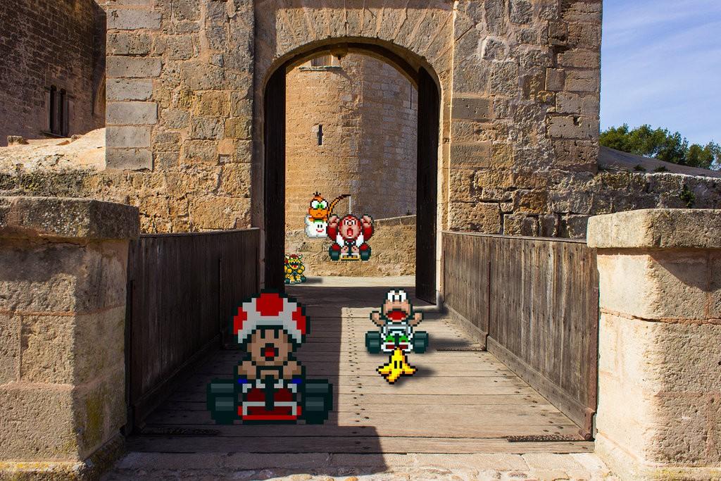 real_bits___super_mario_kart__castle_circuit_by_victorsauron-d5x99os
