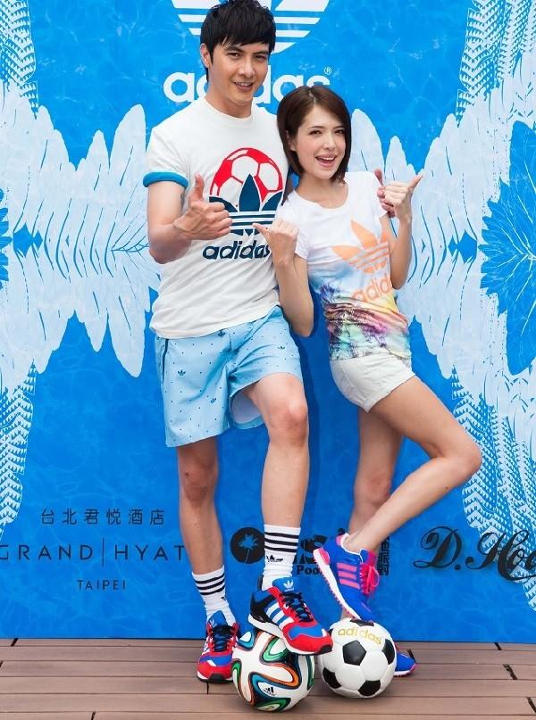 adidas Originals 夏日世足新品發表會 許瑋甯、謝佳見 共同邀請大家體驗adidas Originals的夏日世足時尚