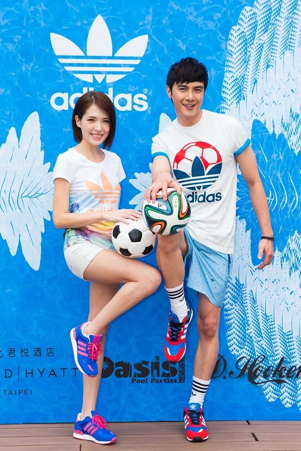 adidas Originals 夏日世足新品發表會 許瑋甯、謝佳見 共同演繹今夏最新服飾 引領街頭潮流時尚
