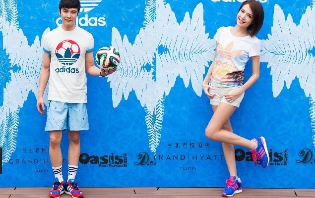 adidas Originals 夏日世足新品發表會 謝佳見穿上今夏超夯世足潮流