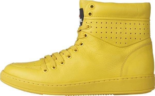 TRAVEL FOX 世足推薦鞋款-巴西隊_SEXY性感-高筒鞋款(黃)_原價$3,800元(男) & 3,500(女)