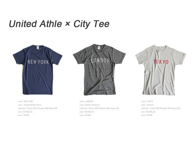 United Athle X City Tee (3-1)