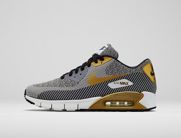 Nike Air Max 90 Jacquard與眾不同的提花工藝創造出圖案疊加的效果,賦予經典鞋面全新的生命