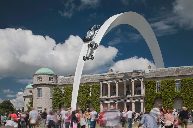 goodwood-festival-of-speed-2014-mercedes-benz-sculpture-by-gerry-judah-2