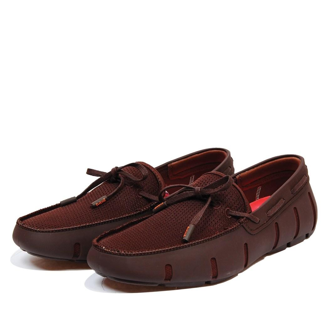 SWIMS_防潑水樂福鞋(棕)_6880元