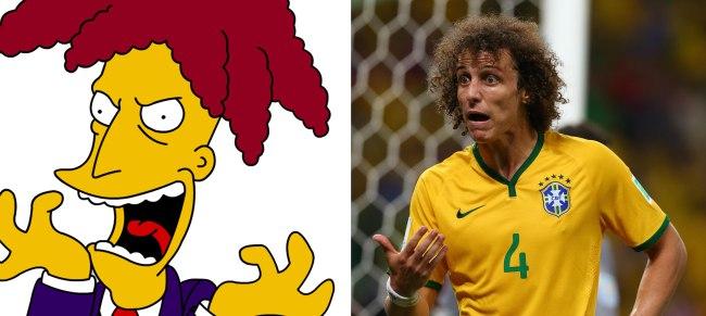 2014 FIFA World Cup, Quarter Finals, Brazil v Colombia, Estadio Castelao, Fortaleza, Brazil - 01 Jul 2014