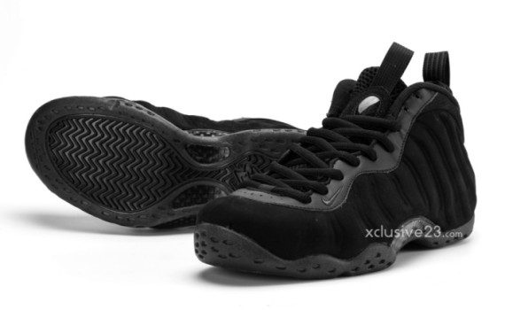 nike air foamposite-suede-black-3