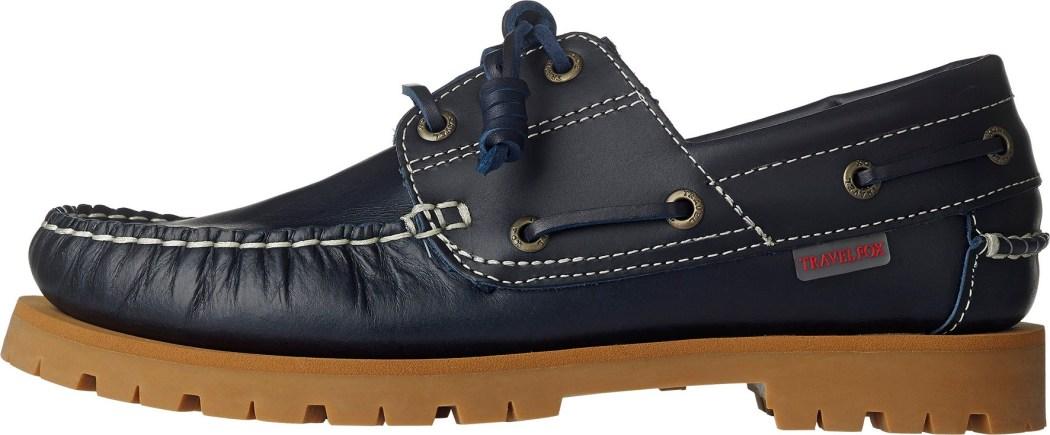 TRAVEL FOX 四大形象之SMART智慧系列-雷跟鞋款(海軍藍色)_原價$3,500元,父親節限時優惠價$2,800元