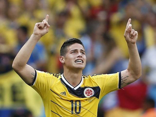 1James Rodriguez