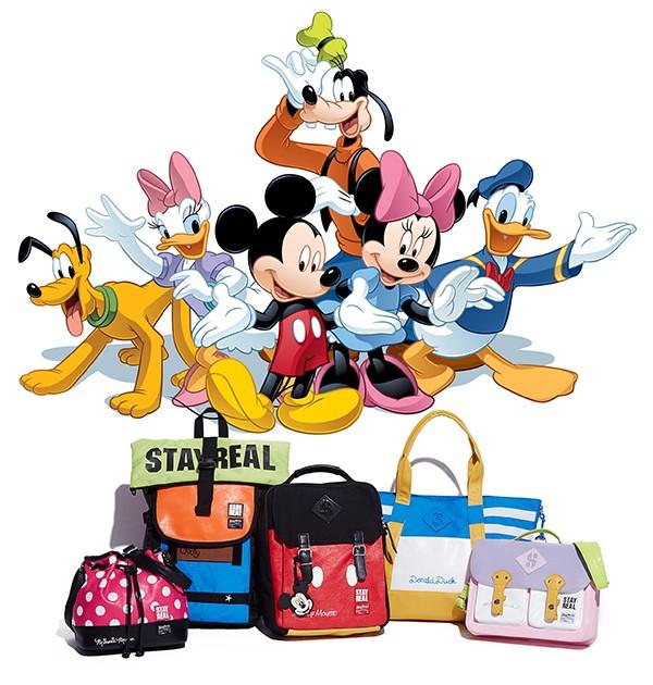 迪士尼家族創意包包變身款
