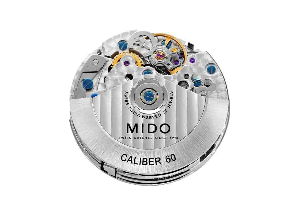 全新機芯Caliber 60